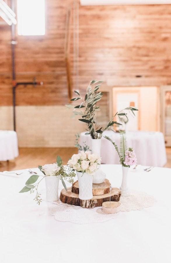 rustic Indiana wedding