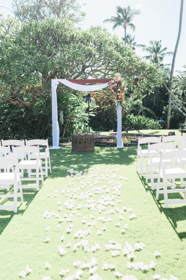 tropical garden wedding