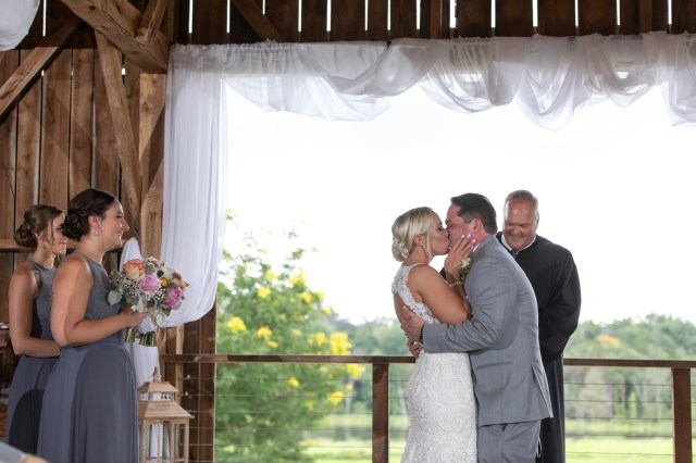 rustic summer wedding
