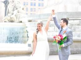 tiki tropical wedding