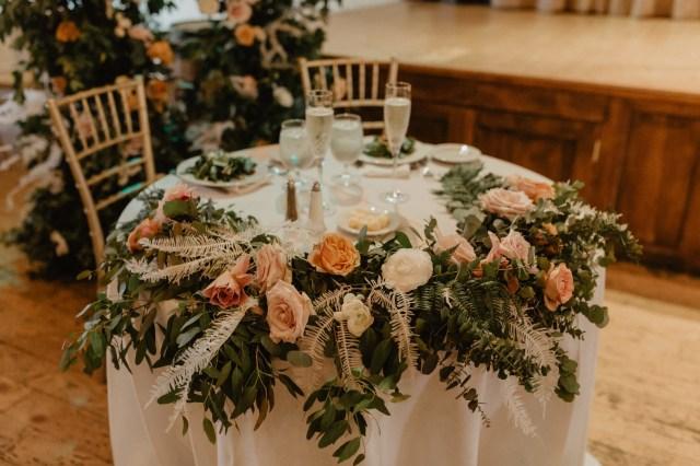romantic industrial wedding