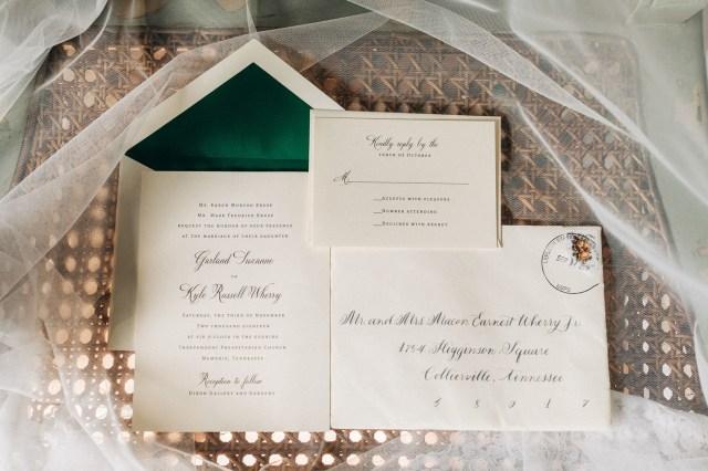 elegant garden wedding