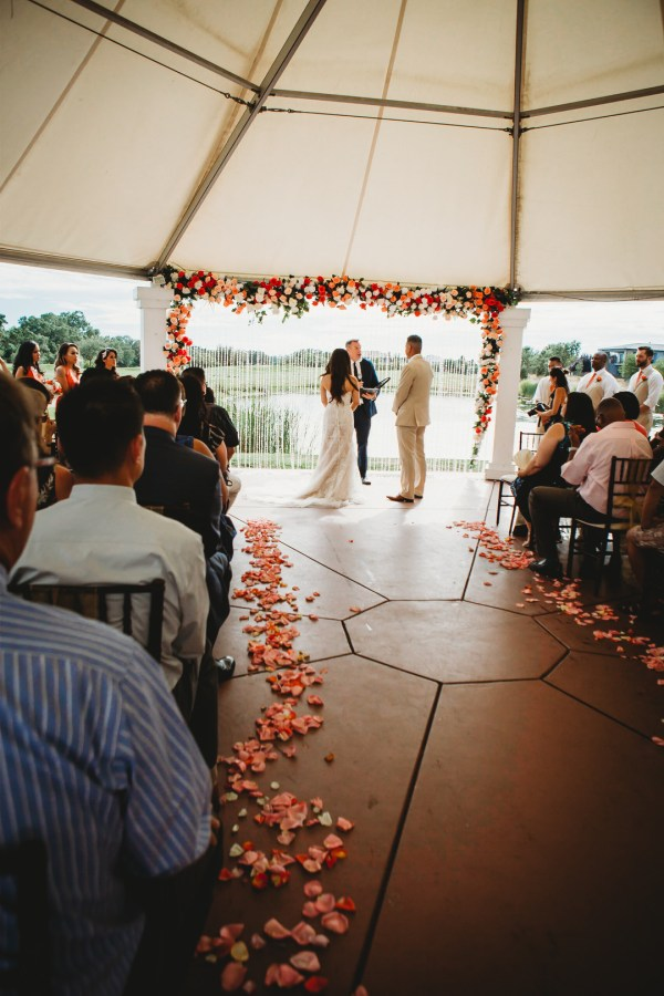 orange country club wedding