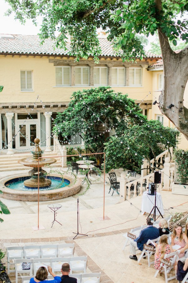 modern Florida wedding