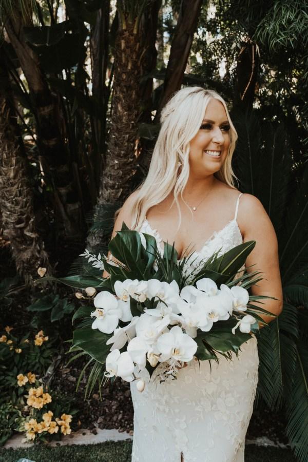 tropical estate wedding