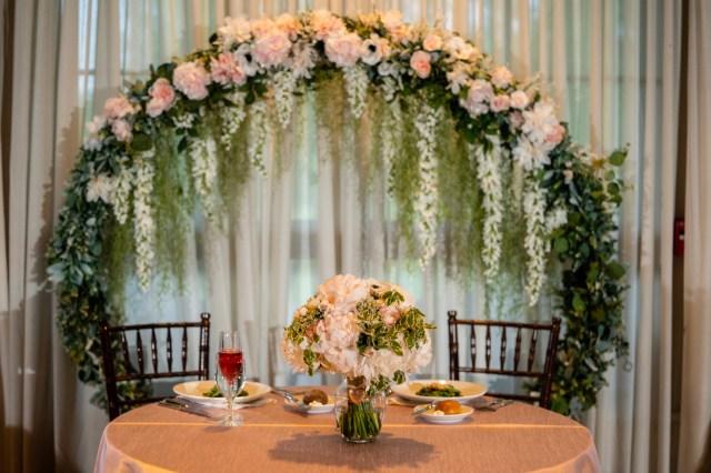 romantic summer wedding