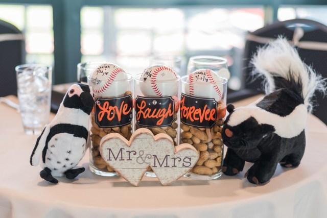 baseball stadium wedding