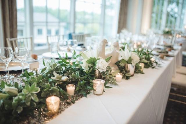 animal-themed club wedding