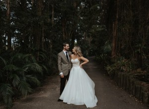 boho forest wedding