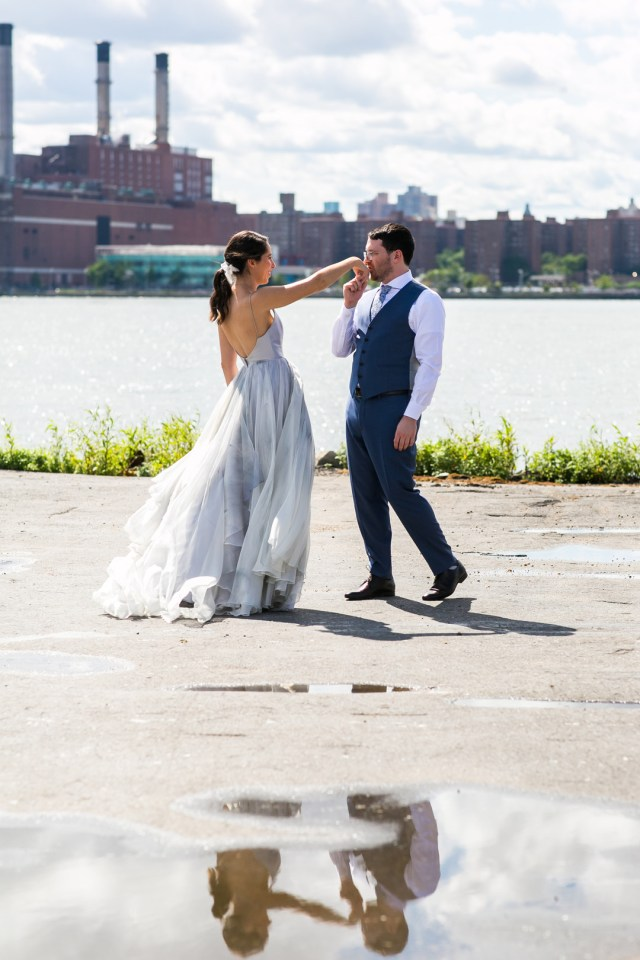 modern Brooklyn wedding