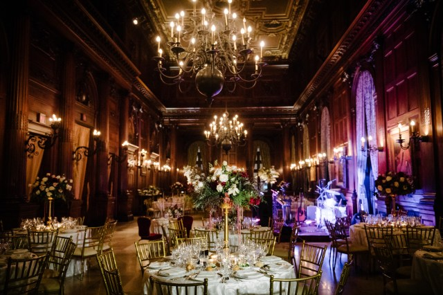 elegant fall wedding