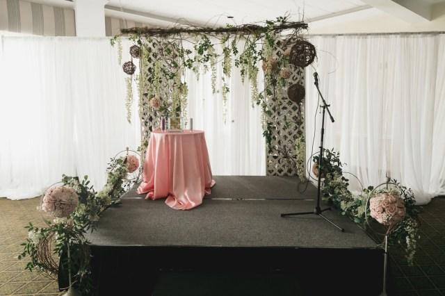 romantic country club wedding