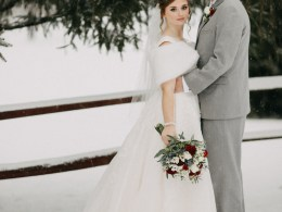 DIY winter wedding