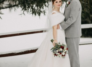 DIY winter wedding