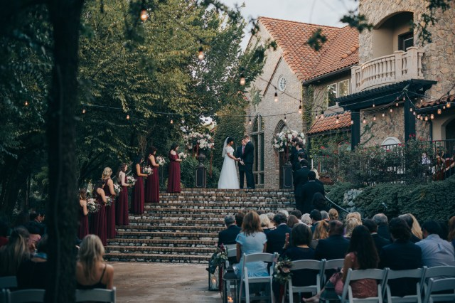 fall Texas wedding