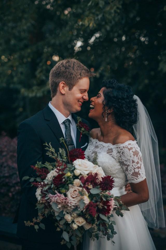 fall Texas wedding