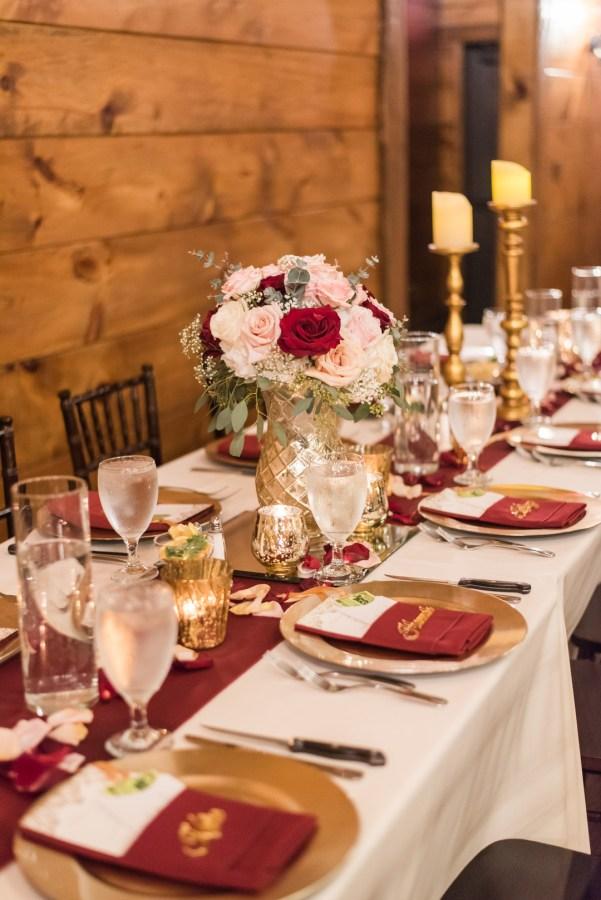 romantic winter wedding