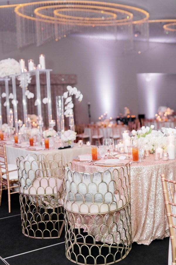 modern chateau wedding