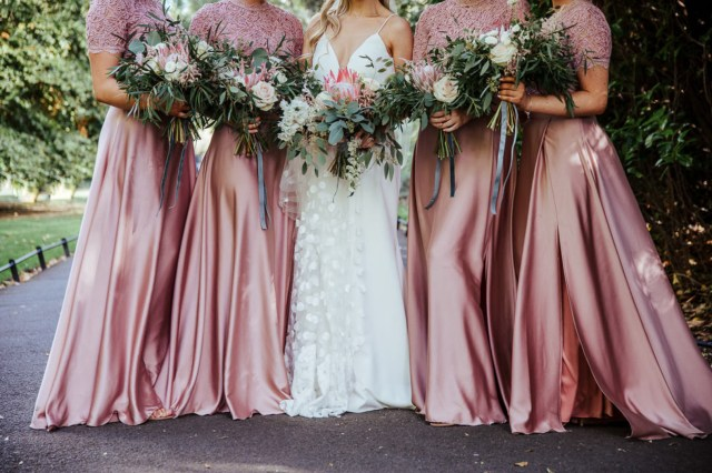 chic Dublin wedding