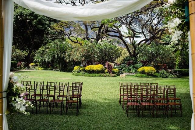 romantic oceanfront wedding