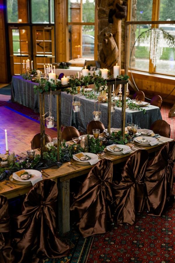 woodland lodge wedding
