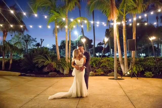 magical waterfront wedding