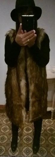 Asos Street style zara fellweste fake fur