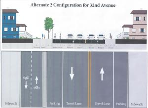 Proposed Alternative on 32 Ave