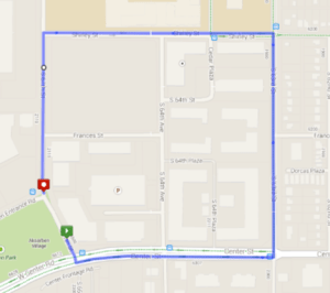 Walk Route Alternate