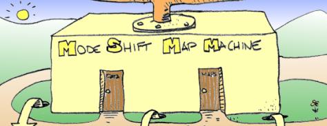 Mode Shift Map Machine