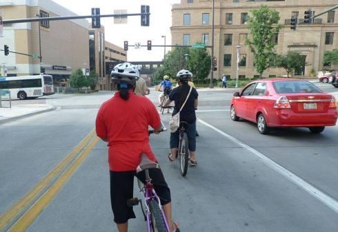 REC bike training
