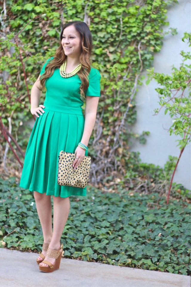green dress 12