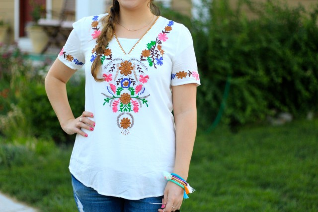 embroidered top 11