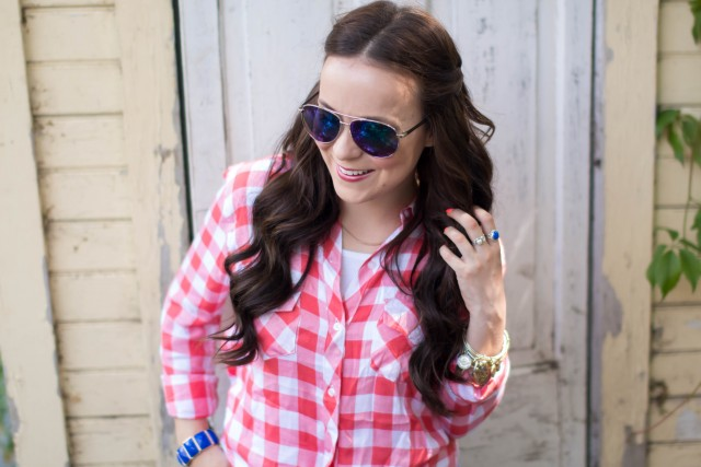 RRed Gingham Top (18 of 20)