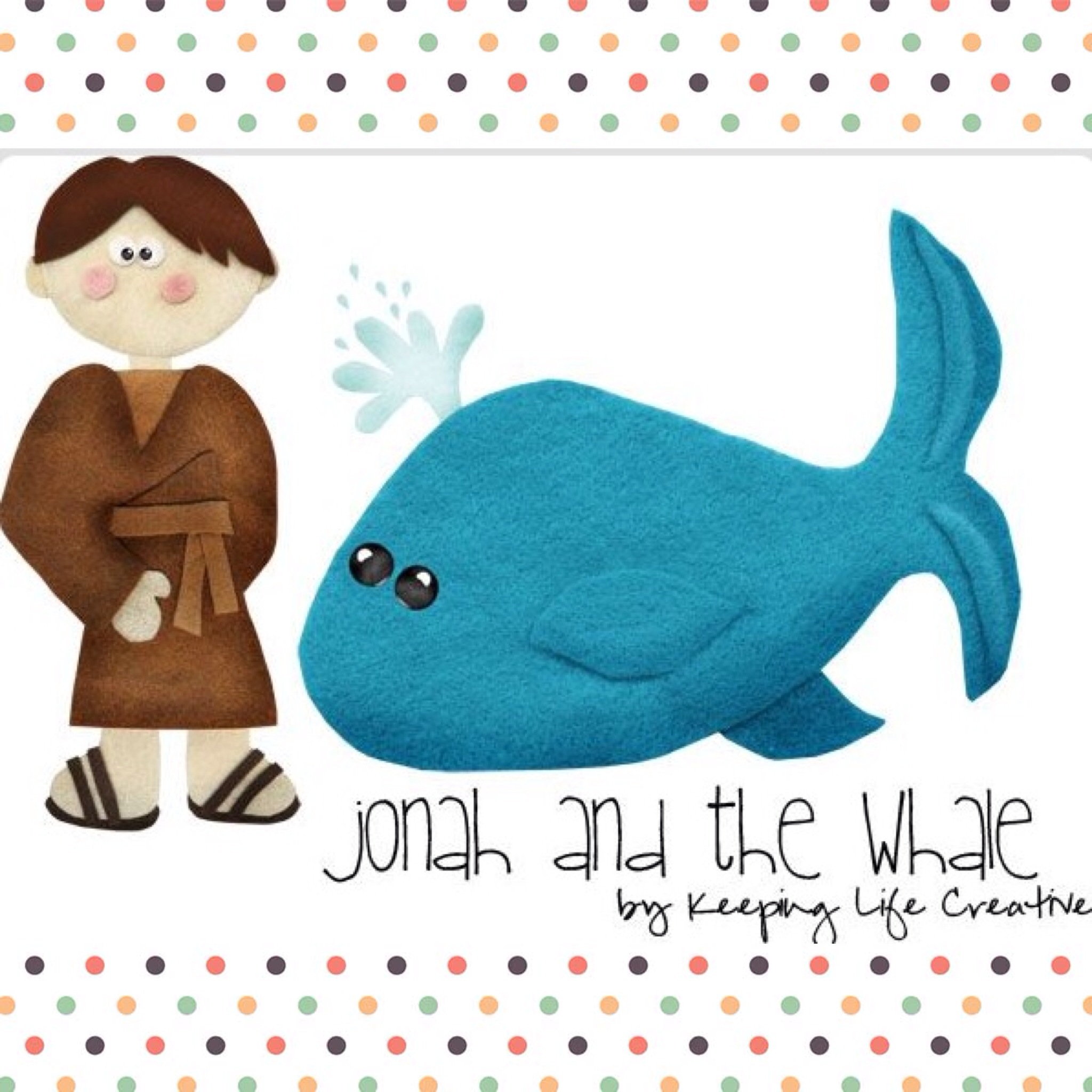 Jonah And The Big Whale Bible Lesson Easy Craft