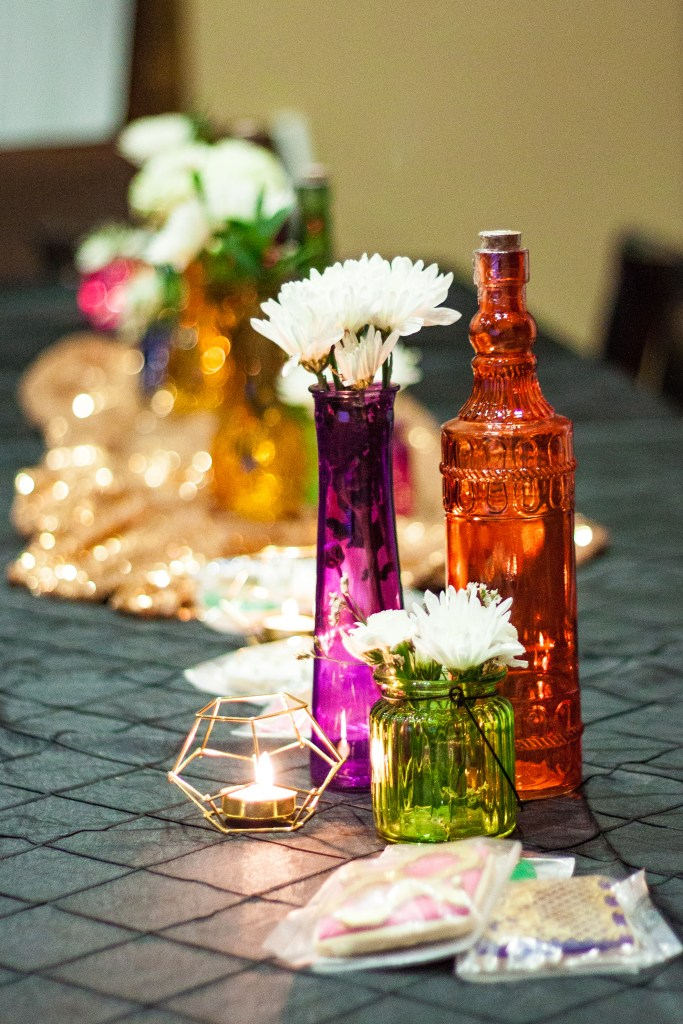she's a gem birthday party centerpieces