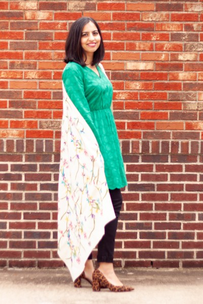 mixing ethnic pieces into your wardrobe pakistani shawl