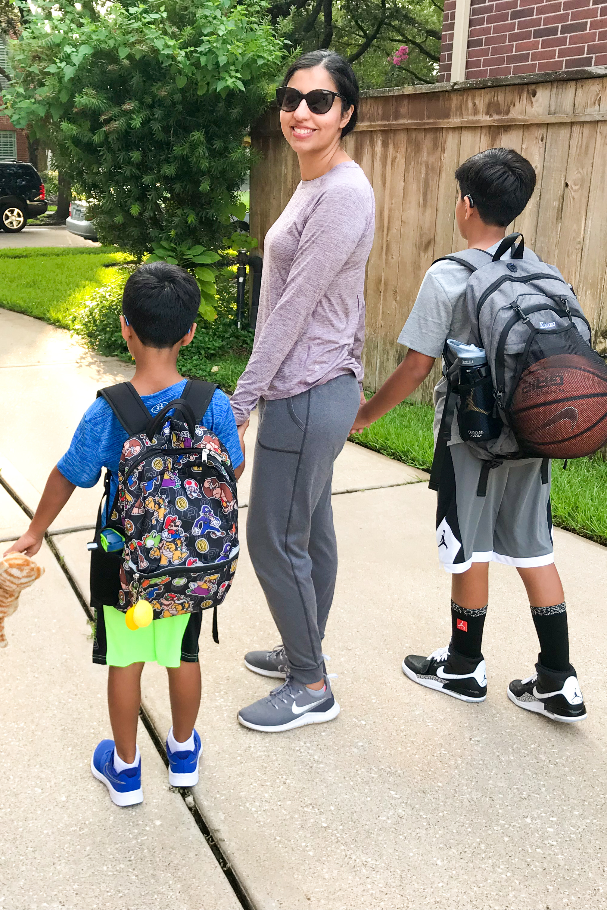 back to school fashion for moms modest workout outfit