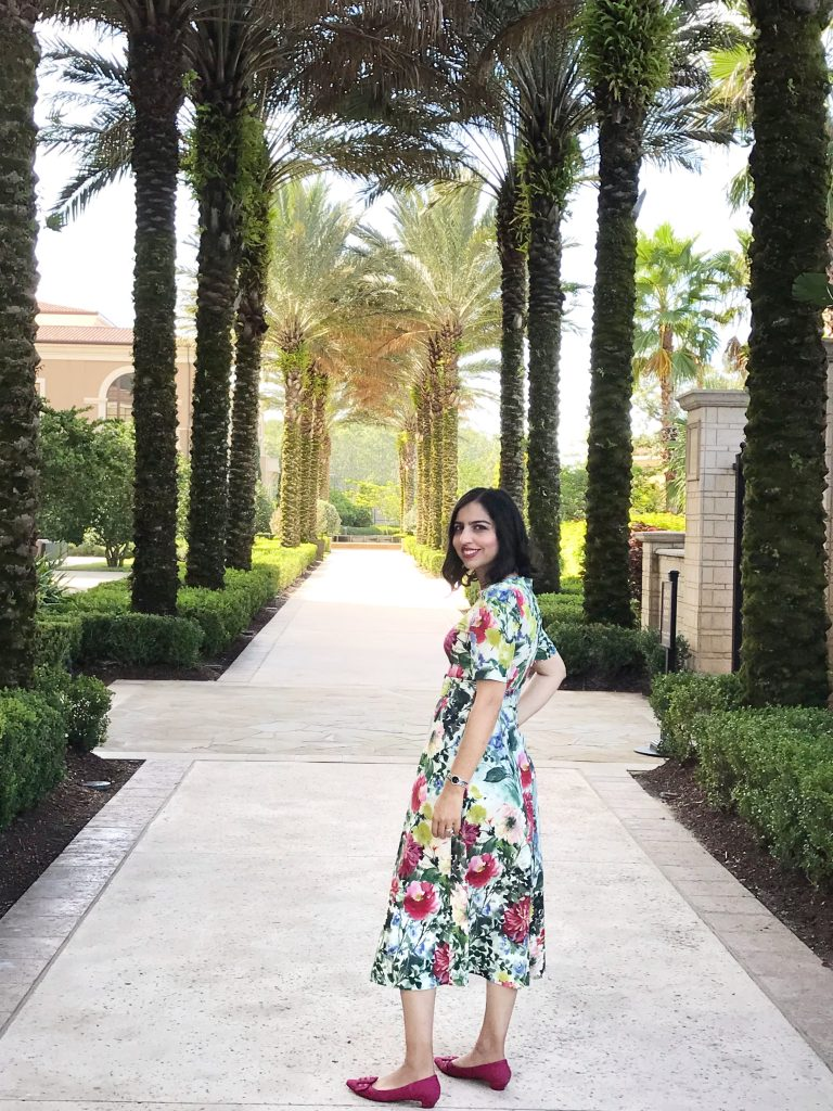 floral dress four seasons orlando
