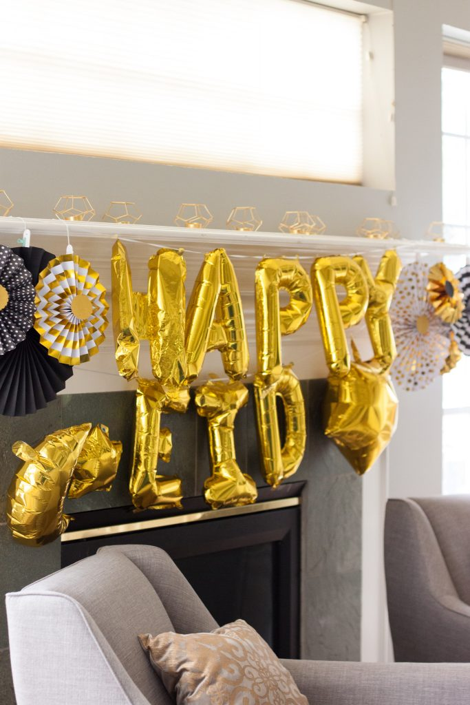 easy eid decor ideas eid balloons