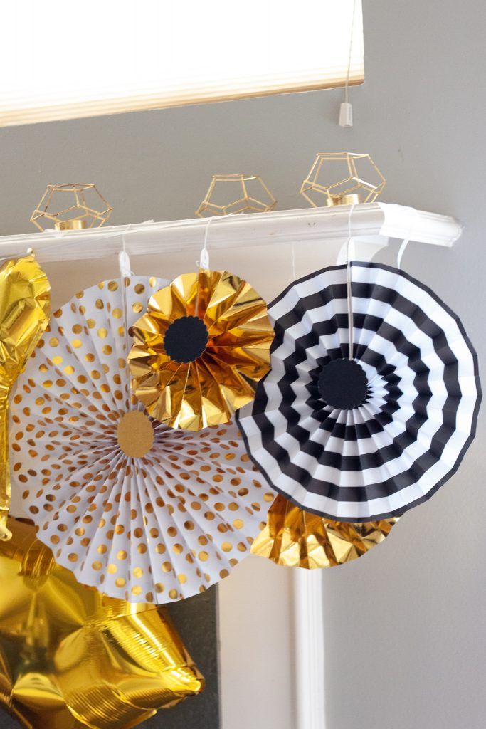 eid decor ideas paper fans