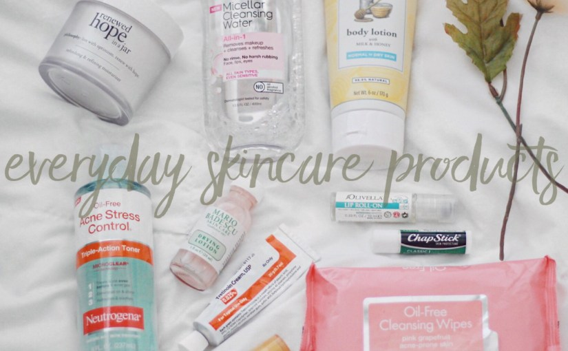 THE DAILY: SKINCARE PRODUCTS