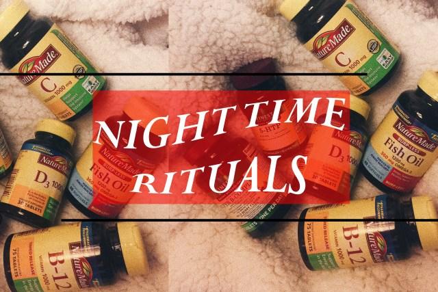 NIGHT RITUALS GRAPHIC