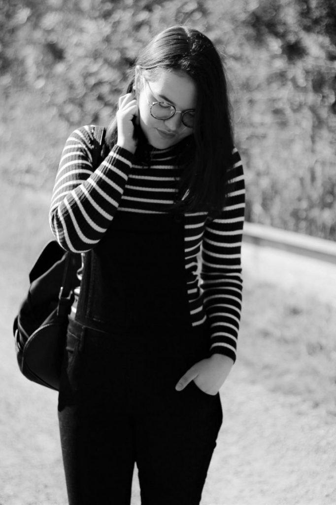 latzhose tragen blog outfit ideen deutsch