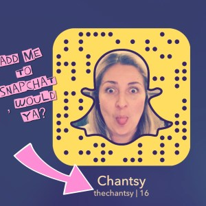 Snapchat TheChantsy Chantal Sarkisian Mode XLusive