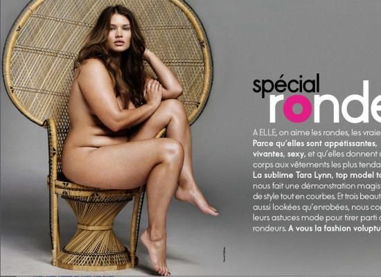 Tara Lynn PLus size model