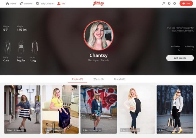 Fitbay Chantal Sarkisian Profile Plus Size Fashion Blogger