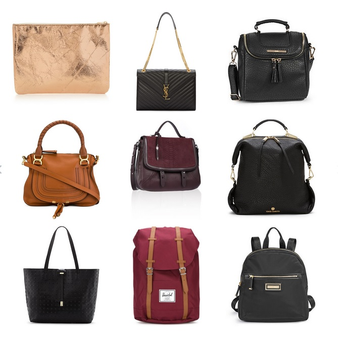 Mode XLusive 2015 Fall fashion bags and purses