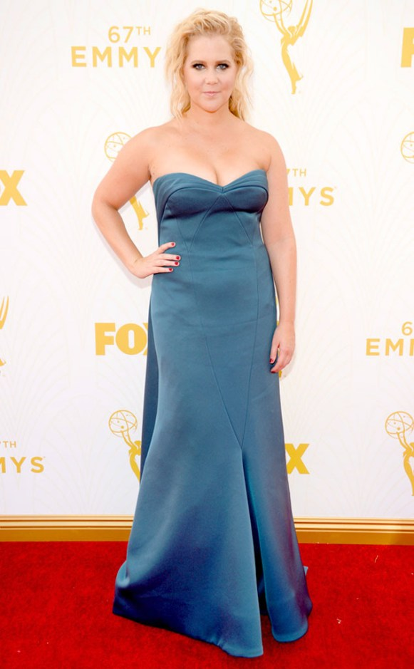 Mode XLusive Canadian Fashion Blog Curvy Amy Schumer Emmys 2015 red carpet dresses