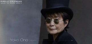 Pirelli Calendar annie leibovitz 2016 calendar Yoko Ono